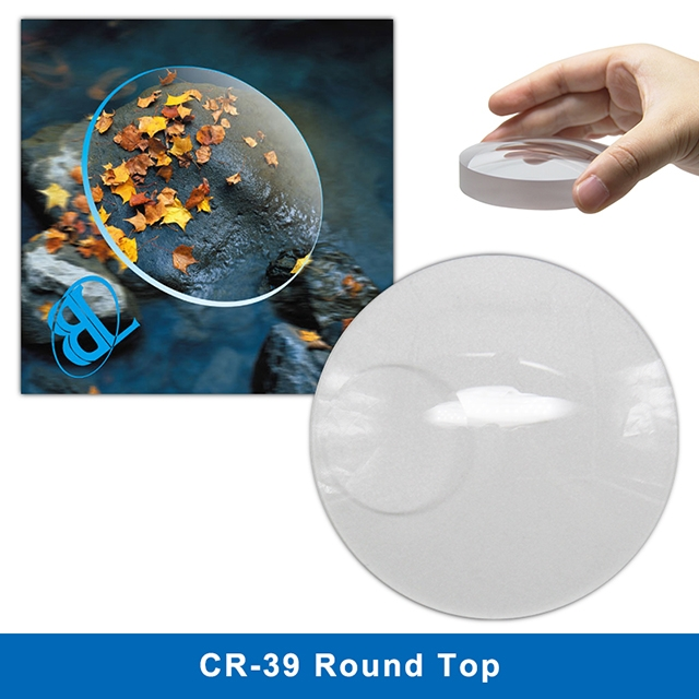 CR39 SF Round top Lens