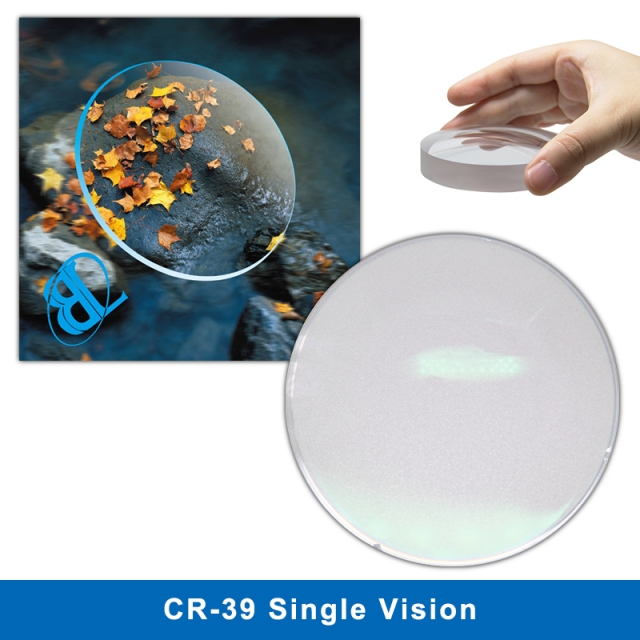 CR39 SF Single Vision Lens