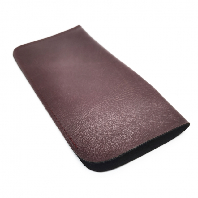 GS02 Soft PU leather Convinient Spectacle Pouch