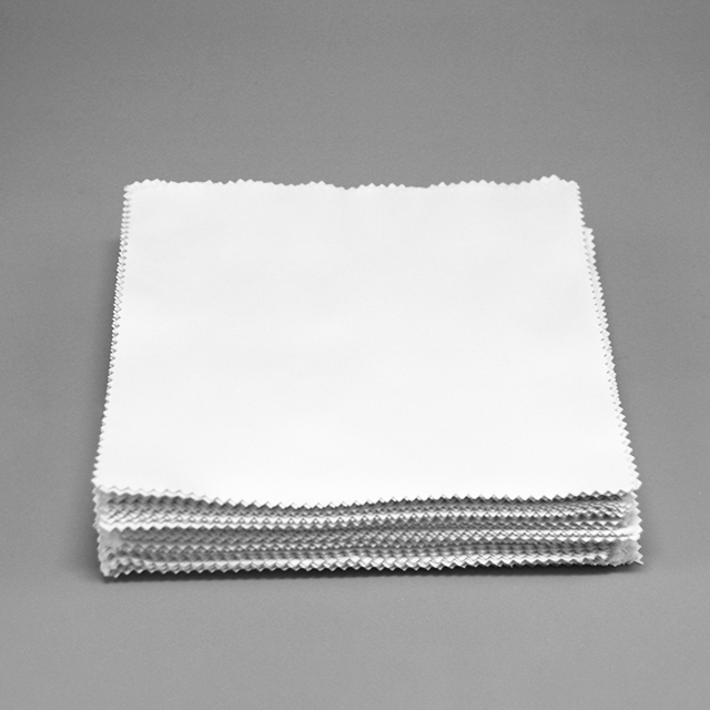 15x15cm Microfabric Plain Cleaning Cloth