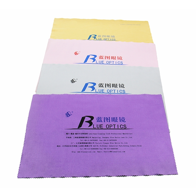 20x30cm Good Quality Microfabric Plain Cleaning Cloth