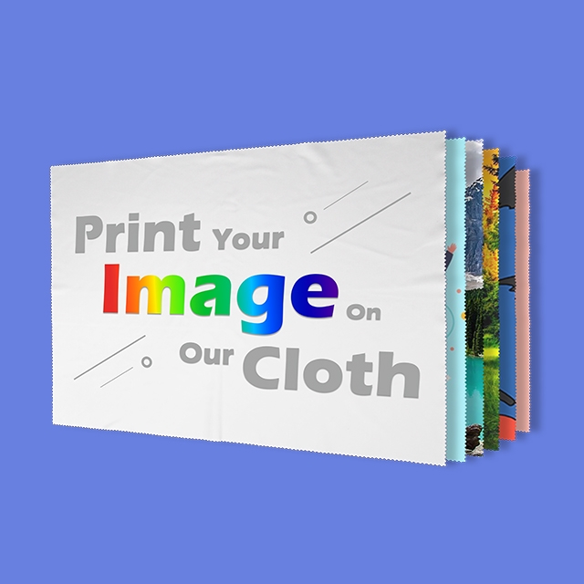 All Size Available Microfiber Cloth Digital Printing
