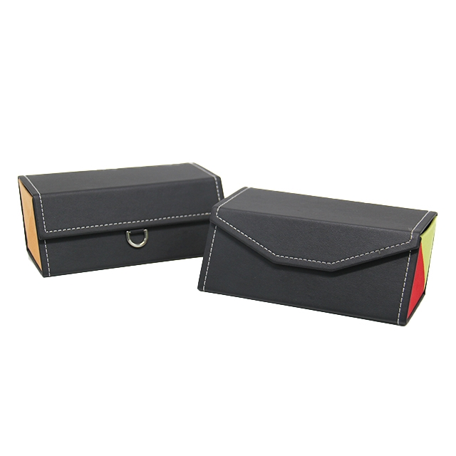 GH988-2 Handmade Large Space Case for two pairs of glasses