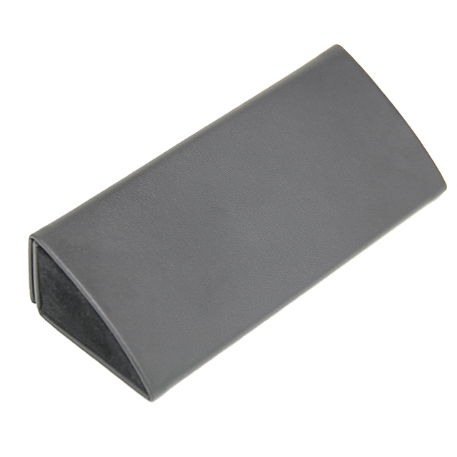 GH102 Hot Selling Handmade Fordable Triangle Glasses Case