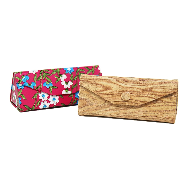 GH930 Handmade Triangle Glasses Case